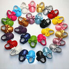 Newborn Baby Boy Girl Tassel Soft Sole Leather Crib Shoes Prewalker 0-24 Months