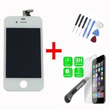 Original Retina Display Iphone 4G Digitizer Touchscreen weiß Werkzeug Panzerfoli