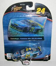 Jeff Gordon #24 Winners Circle 2004 Talladega Win Raced Version 1:64 Diecast Car