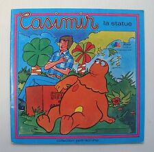 Livre ancien Casimir La Statue Collection petit domino - TF1 1976