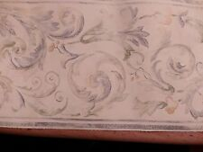 Wall paper border,pre pasted,Brewster Wallcoverings, scroll design, 6 7/8 x 5 yd