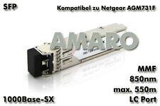 Netgear AGM731F komp SFP 1G SX LC 550m 850nm MMF Transceiver