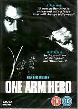 "ONE ARM HERO - IN THE TRADITION OF ""PITFIGHTER"" A BLOODSPORT- NEW ENGLISH DVD"
