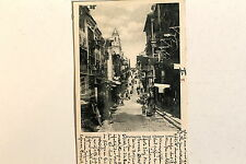 24676 PC Postcard HONG KONG Wellington Street Chinese town 1902