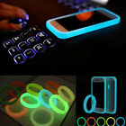 Universal Soft Silicone Fluorescent Protective Phone Bumper Frame Cases Cover