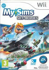 MY SIMS SKY HEROES for Nintendo Wii - with box & manual - PAL