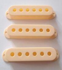 NEW 3 COVERS STRAT 52mm cream pour  guitare Fender, Squier etc