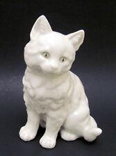 Adorable Vintage Hutschenreuther Bavaria White Kitten Cat Figurine