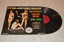 ROLAND SHAW - Themes from The James Bond Thrillers Vinyl LP - PROMO MONO Record