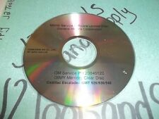 +USED Genuine GM MY09i Service Software Update Disc 20846120