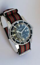 RARE VINTAGE 70'S SALVEST MORTIMA SUPERDATOMATIC DIVER WATCH SUBMARINER SICURA