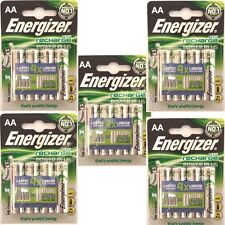 20 AA Energizer Rechargeable 2000 mAh NI-MH Batteries 2000mAh HIGH CAPACITY NiMH