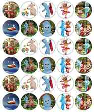 In The Night Garden Cupcake Toppers Edible Wafer Paper BUY 2 GET 3RD FREE