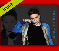 CONOR MAYNARD BIRTHDAY CARD Top Quality Repro Autograph Signed A5