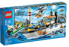 LEGO City Coast Guard 60014  Coast Guard Patrol Brand New and Sealed