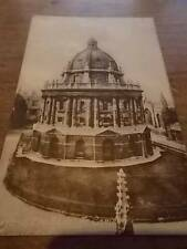Vtg 1936 THE RADCLIFFE CAMERA OXFORD B/W real photo postcard Oxfordshire