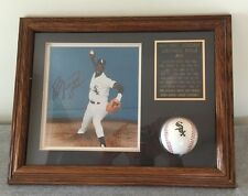 Michael Jordan Autograph Framed White Sox Photo/Baseball -Guaranteed Authentic