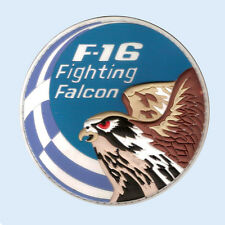 HELLENIC AIRFORCE F-16 FIGHTING FALCON RUBBER PVC PATCH