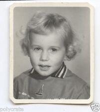 Portrait identité photomaton enfant - Photo ancienne an. 1960