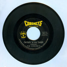 Philippines THE CORONETS I'm Fallin' In Love Tonight OPM 45 rpm Record