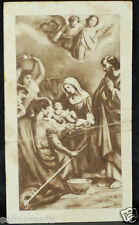 OLD BLESSED SACRED FAMILY HOLY CARD ANDACHTSBILD SANTINI   SEE MY EBAY SHOP C819