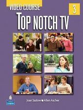 Top Notch TV 3 Video Course by Joan M. Saslow and Allen Ascher (2007, Paperback)