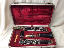 Meyer Clarinet. Vintage. 5. 2162. Made In Czechoslovakia. And Case. D Free Ship