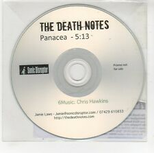 (GG702) The Death Notes, Panacea - DJ CD