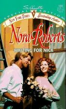 Waiting for Nick by Nora Roberts Paperback Book FREE USA SHIPPING GREAT AWESOME!