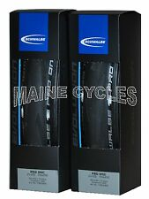 Schwalbe PRO ONE 2017 tubeless clincher 700 x 25 all black 2 tires