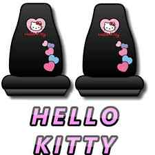 Hello Kitty Hearts Design Seat Covers Pair Car GIFT SET