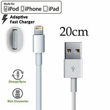 Apple iPhone 5 6 7 PLUS SE iPad mini Air Pro iPod 20cm Fast data charger cable