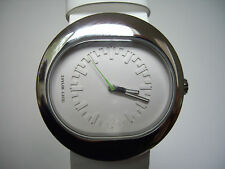 Issey Miyake Watch, Designed by Harri Koskinen, White, Stainless Steeel, Seiko