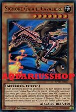 Yu-Gi-Oh Signore Gaia il Cavaliere MVP1-IT050 Ultra Rara ITA Lord Gaia the Fierc