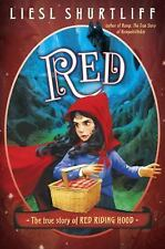 Red: The True Story of Red Riding Hood by Liesl Shurtliff NEW Audio CD FREE SHIP