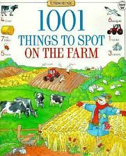 1001 Things to Spot on the Farm (Usborne 1001 Things to Spot)-ExLibrary