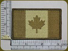 CANADA ARMY FLAG PATCH COMBAT MORALE MILITARY GREEN MULTICAM MILSPEC ACU LEAF