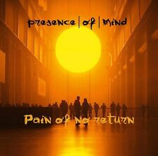 PRESENCE OF MIND Pain Of No Return CD 2016 LTD.500