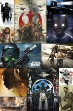 STAR WARS - ROGUE ONE - COLLAGE POSTER - 22x34 MOVIE 14634