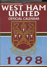 WEST HAM UNITED F.C. 1998 OFFICIAL CALENDAR