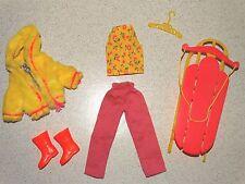Barbie:  Skipper VINTAGE Complete GOIN' SLEDDIN' Outfit!