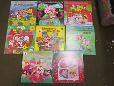 Vintage Strawberry Shortcake Lot 8 records