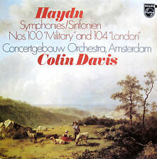 PHILIPS 9500 510 Haydn Military & London Symphony Colin Davis 1978 NEAR MINT