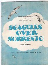 Apollo Theatre - Seagulls Over Sorrento 1950 Programme