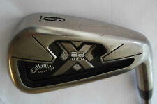 CALLAWAY X22 TOUR 6 IRON Rifle 5.5 Flighted STEEL SHAFT GOLF CLUB Callaway Grip