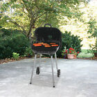 Charcoal Grill Portable BBQ Outdoor Camping Grilling Barbecue Smoker Cooking NEW