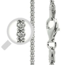Italy Popcorn 150 Chain Sterling Silver Rhodium Plated Best Price Jewelry 18""