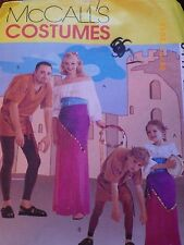 McCALL Hunch Back of Notre Dame Adult Sm 31 1/2 32 1/2 Gypsy Costume Couple 8477