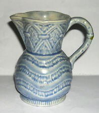 Roddy Ware Staffordshire Pottery - Rare BLUE Jug - Full Makers Marks to Base.