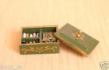 Accessories Dollhouse Miniature Sewing clothes sundry box ❤ re-ment Size #604